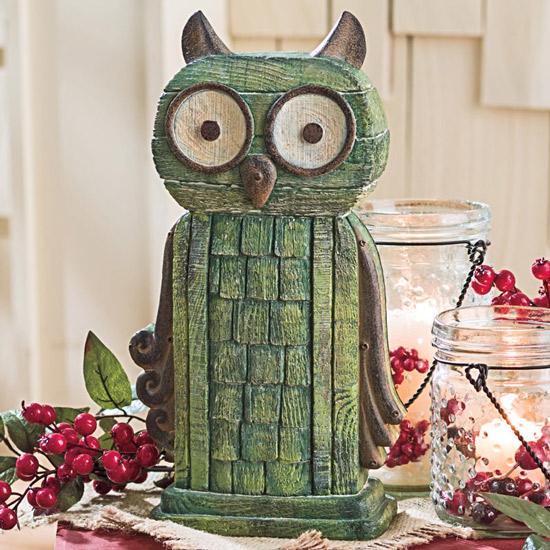Life's a Hoot Owl Statue