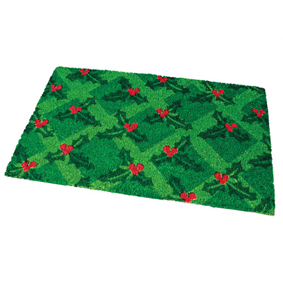 Holly Doormat