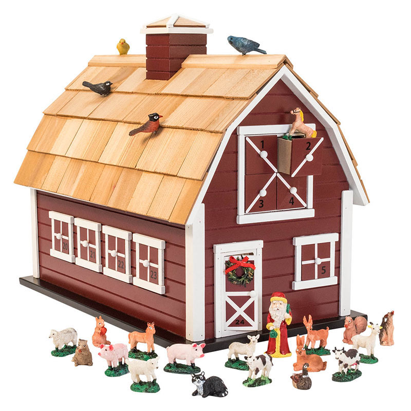 Heirloom Christmas Barn Advent Calendar Breck S Gits
