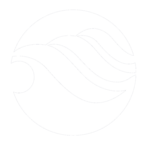 Tsr logo white white waves