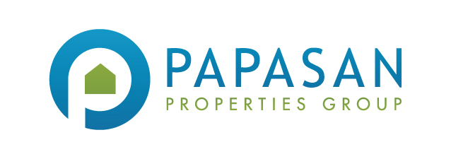 Papasan properties group logo horizontal