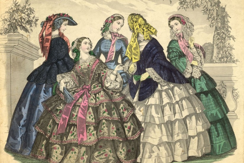 How Hoop Skirts Actually Advanced Women's Rights — Bunk