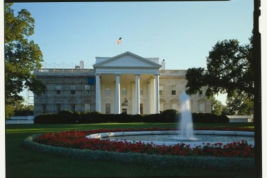 A picture of the White House