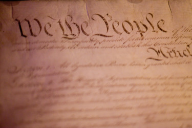 """""""We the People""""; US Constitution"""