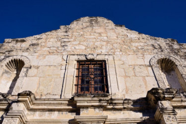 Facade at the Alamo