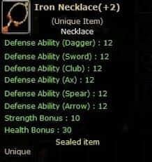 Ares +2 Iron Neck