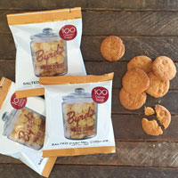 Salted caramel cookies snack pack