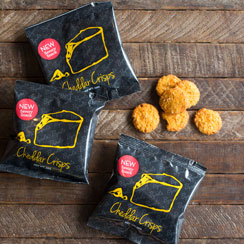 Cheddar Crisp Snack Packs
