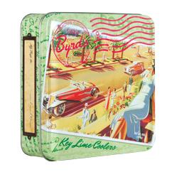Travel Postcard 6 oz Tin- Key Lime Coolers