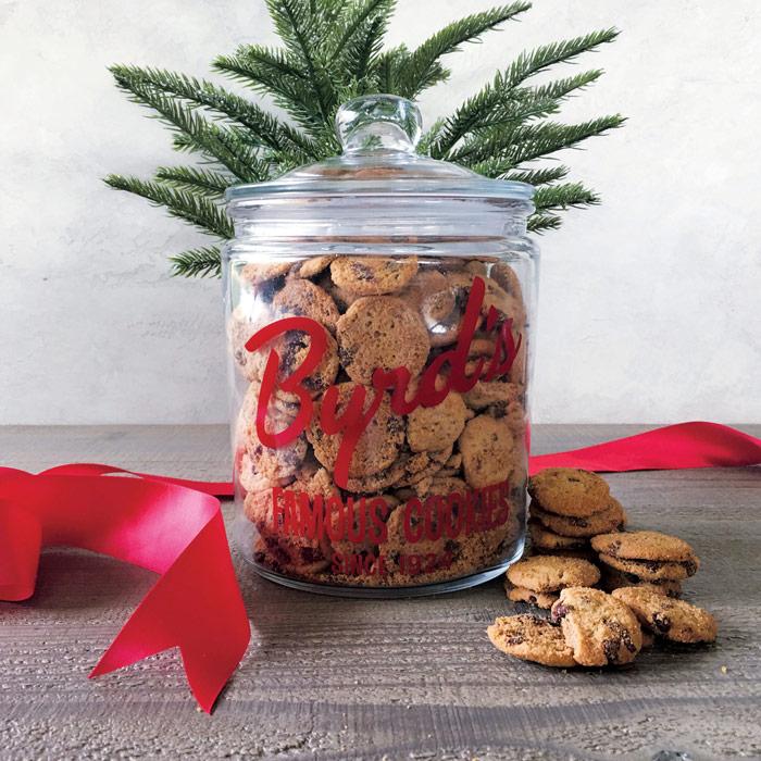 Heritage Cookie Jar & 1 Pound of Cookies