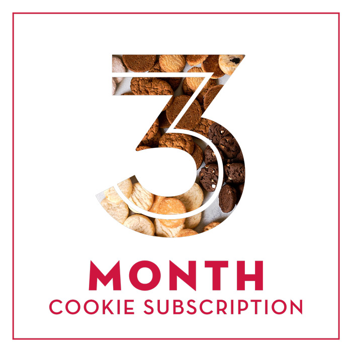 Cookie of the Month - 3 Months