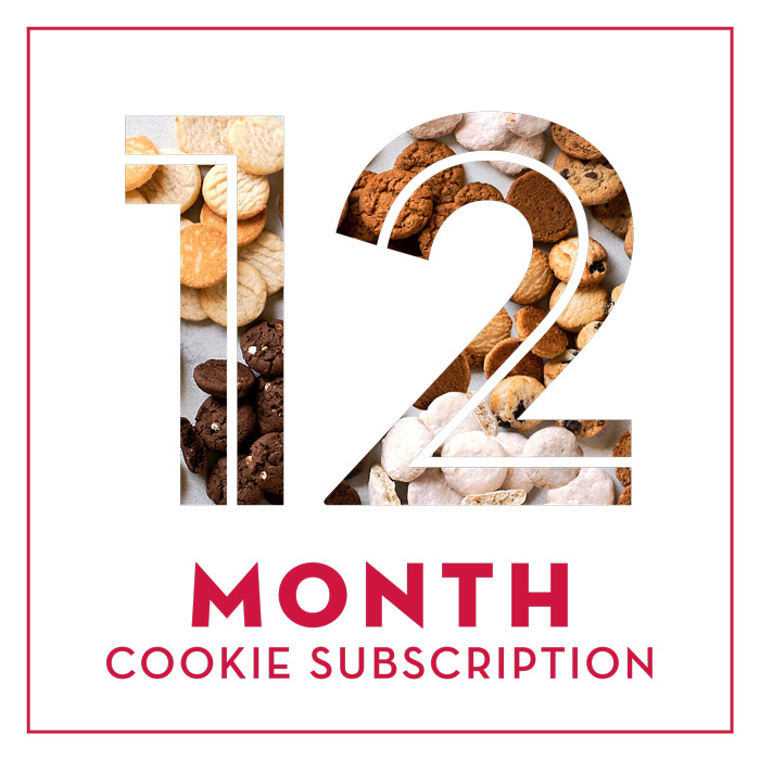 Cookie of the Month - 12 Months