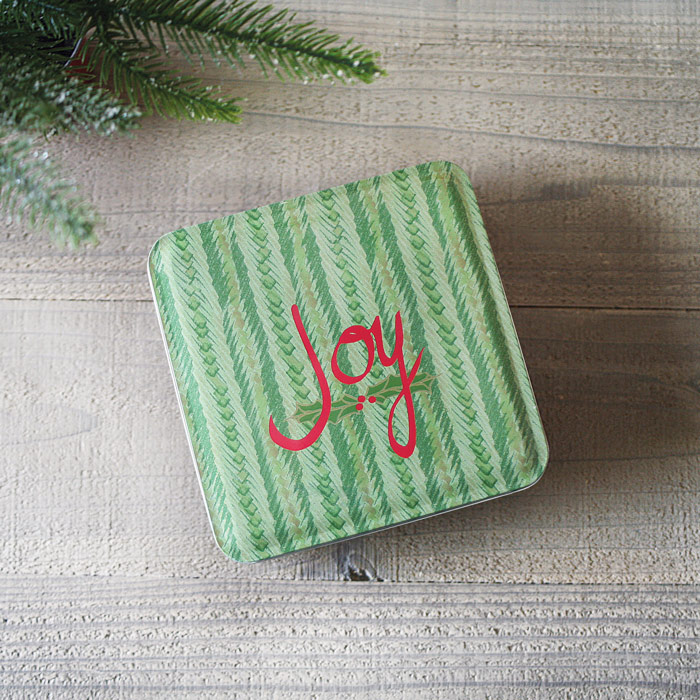 Holiday JOY Gift Tin - Key Lime Coolers