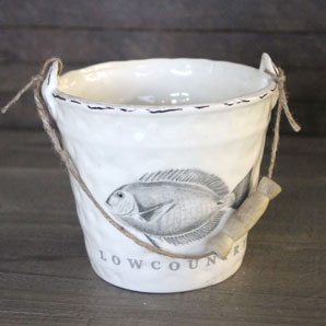 Ceramic Low Country Bucket