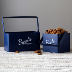 Byrd Metal Caddy with Cookies - 1lb