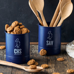 Byrd Utensil Holder with 1lb of Cookies