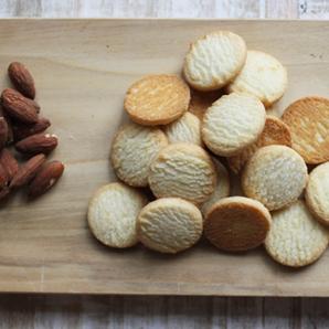 1 Pound - Almond Shortbread Cookies