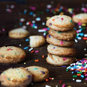 1 Pound - Confetti Cookies