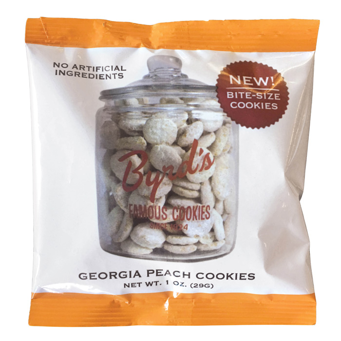 Georgia peach cookies snack packs