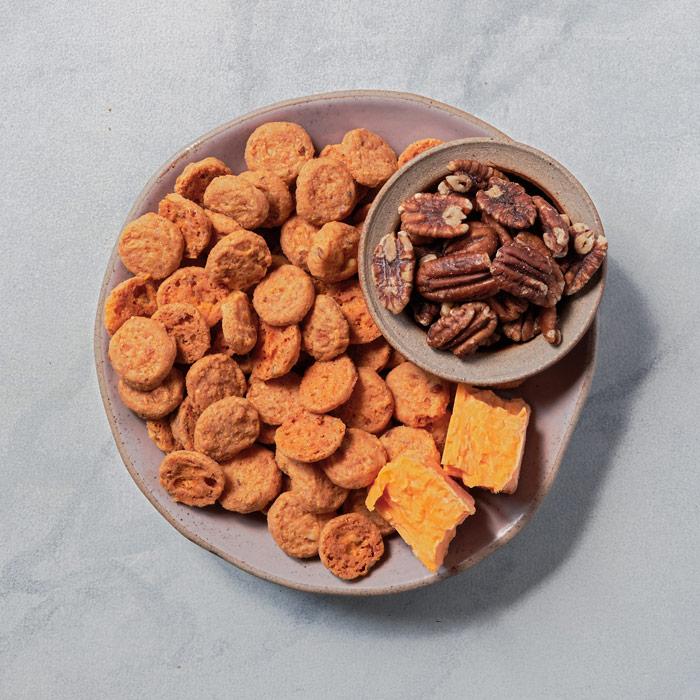 Cheddar Pecan Biscuits