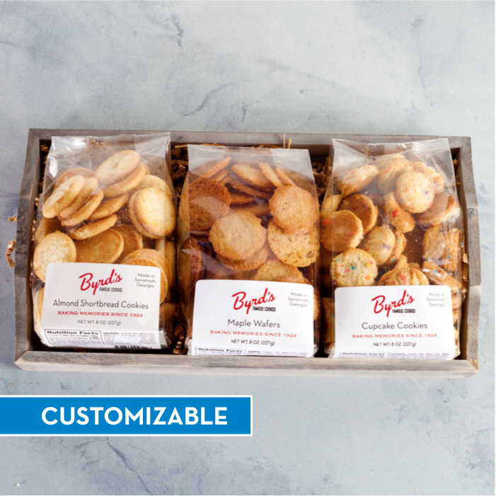Bakery Bag Cookie Tray - CUSTOM Trio