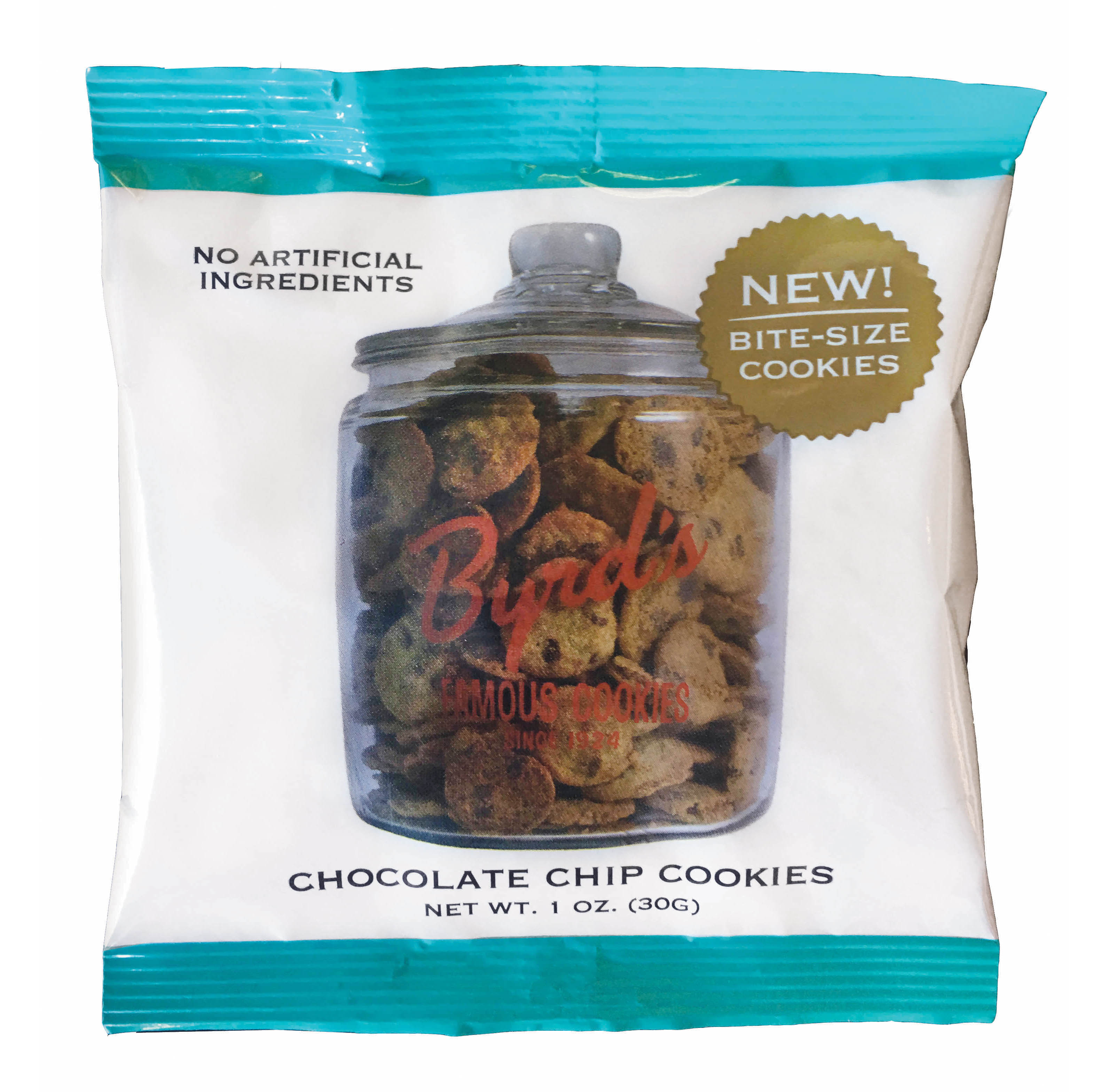 Chocolate Chip Cookie, 25 - 1 oz Snack Packs