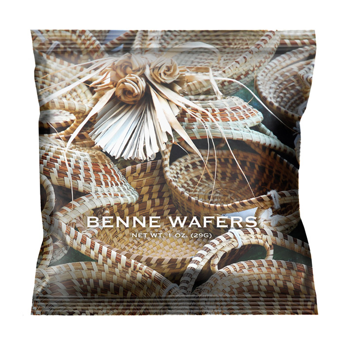 Benne Wafer - Sweet Grass 1 oz Snack Packs