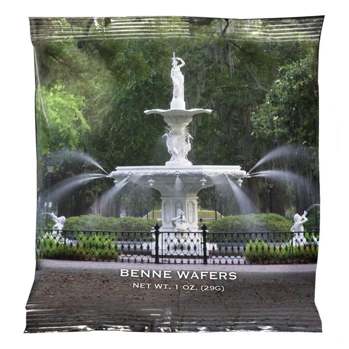 Benne Wafer - Forsythe Fountain, 50 - 1 oz Snack Packs