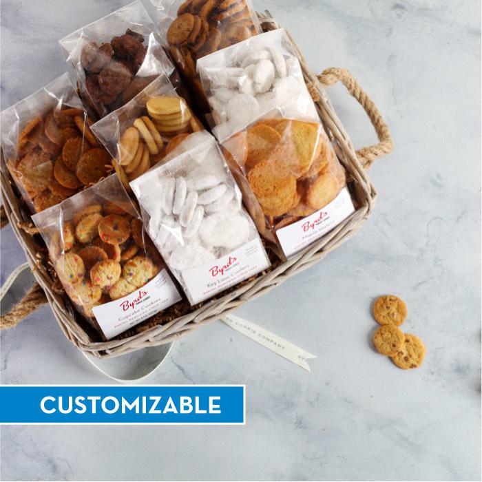 Simply The Best Cookie Basket - CUSTOM