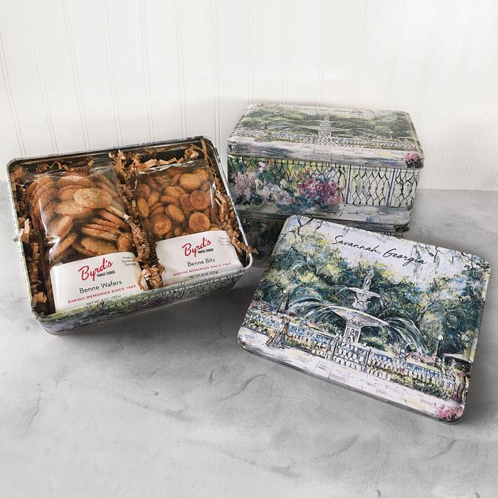 Forsyth Gift Tin - Benne Wafer & Benne Bits