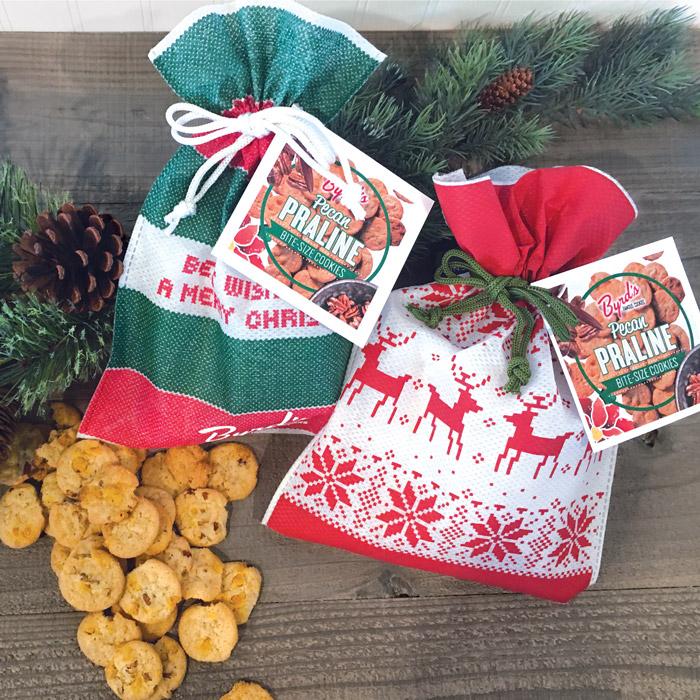 7oz Praline Gift Bags - Set of 2