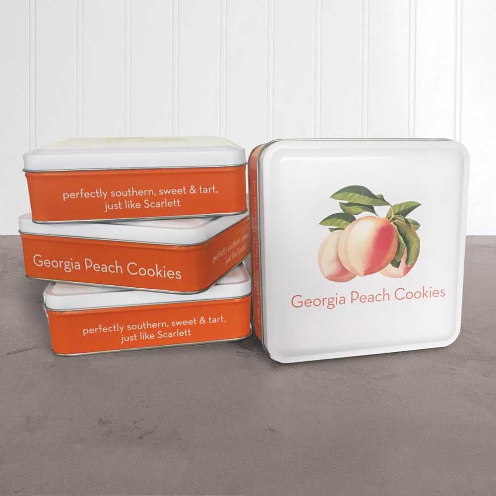 Georgia Peach 6oz Gift Tin