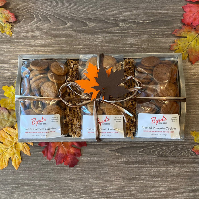 Fall Cookie Trio Tray