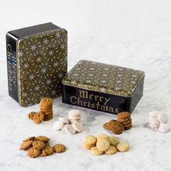 Merry Christmas Assortment Tin