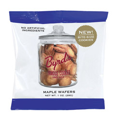 Maple Wafers - Maple Wafer 1 oz. Snack Packs (25 ct)