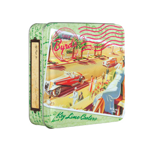 Travel Postcard 6 oz Tin- Key Lime Coolers