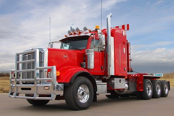 Camex Tri-Axle Winch Tractor