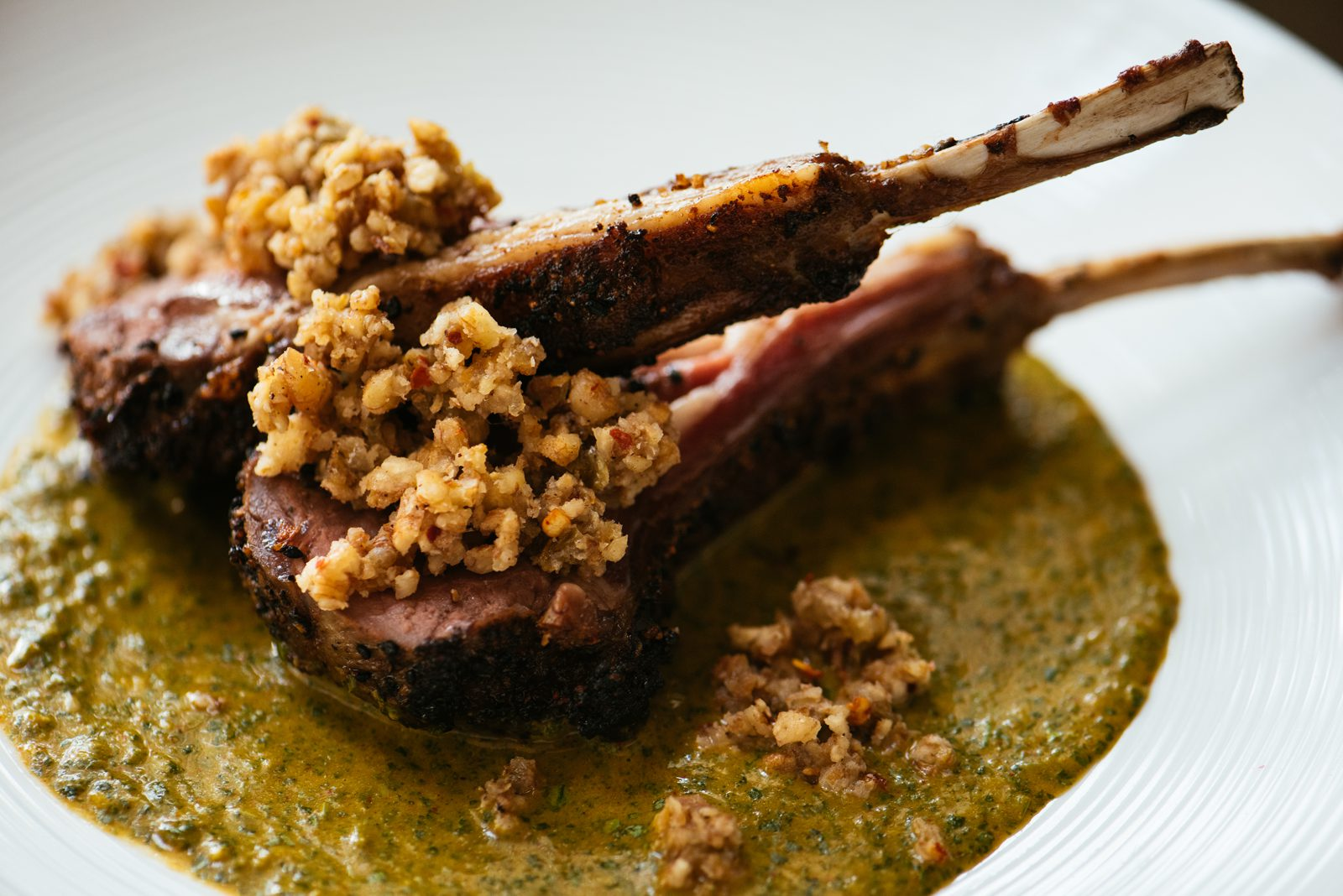 Featured Chef Ashley Roussel's Indian Spiced Lamb Chops