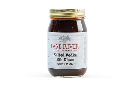 Salted Vodka Rib Glaze