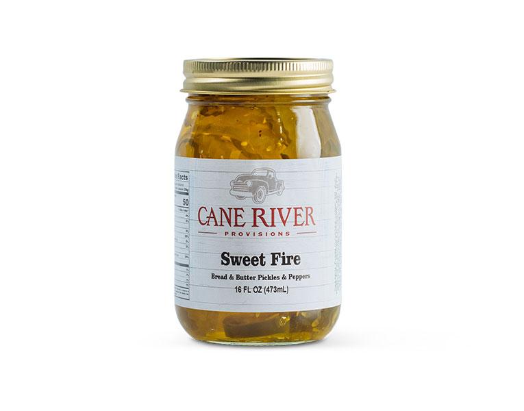 Sweet Fire (Bread & Butter Pickles w/ Jalapenos)