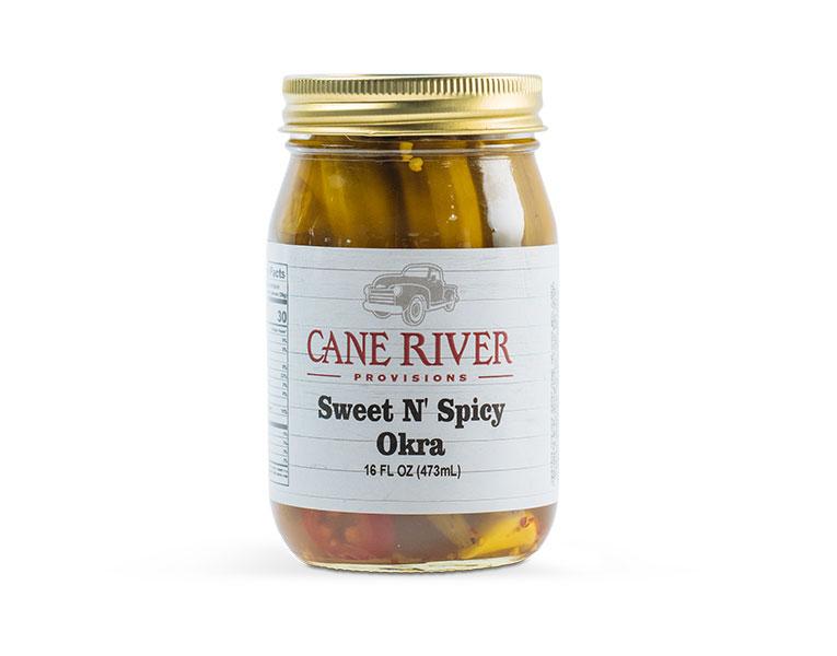 Sweet N' Spicy Okra