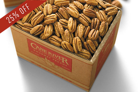3 lb. Box and 5 lb. Box of Mammoth Natural Pecans