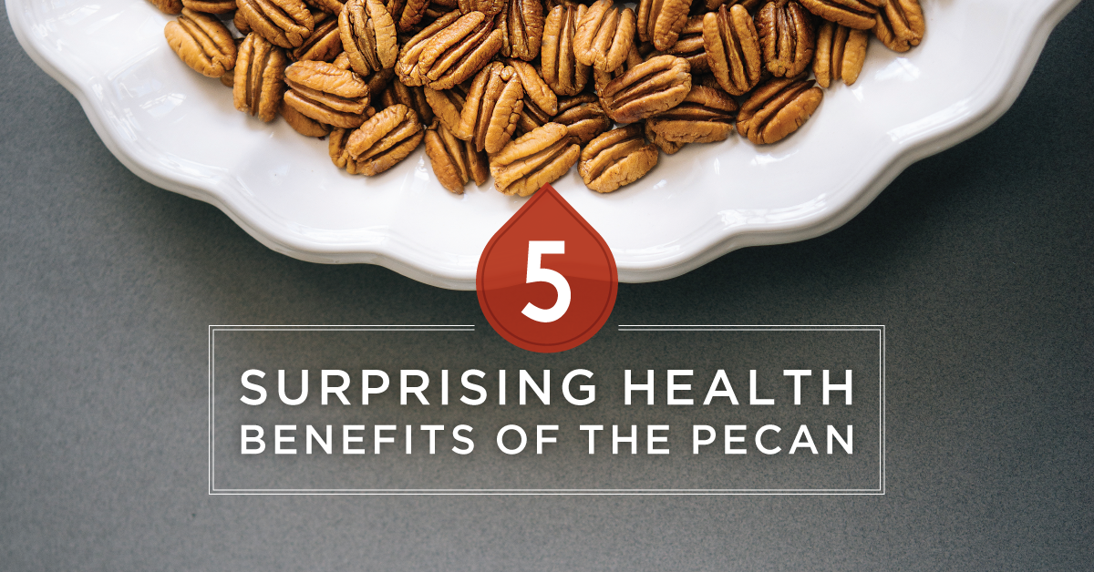 5 Surprising Health Benefits of Pecans