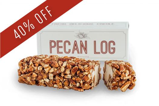 Pecan Log