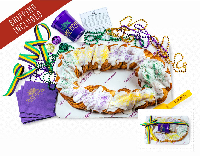 King Cake with Shipping Included