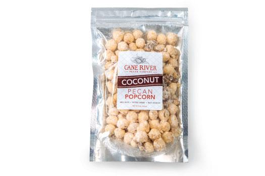 Coconut Pecan Popcorn