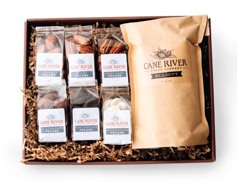 Cane River Pecan Sampler Gift Tray