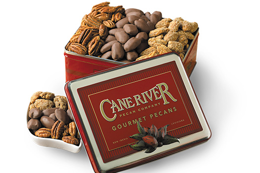 12 Assorted Cookies - Cane River Tin