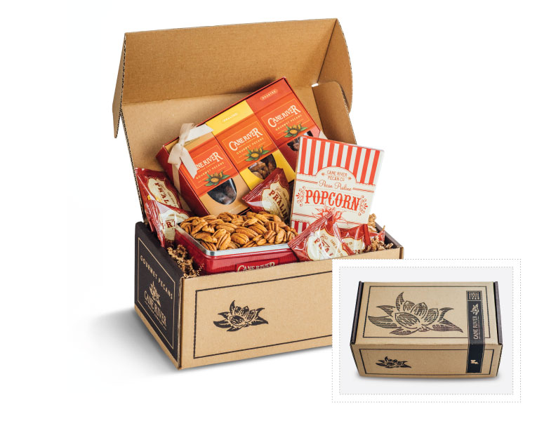 Cane River Corporate Pecan Variety Gift Box