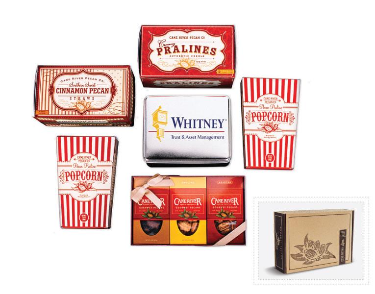 Cane River Pecan Snack Variety Custom Executive Gift Box
